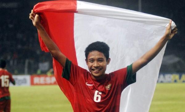 evan dimas pemain sepakbola indonesia