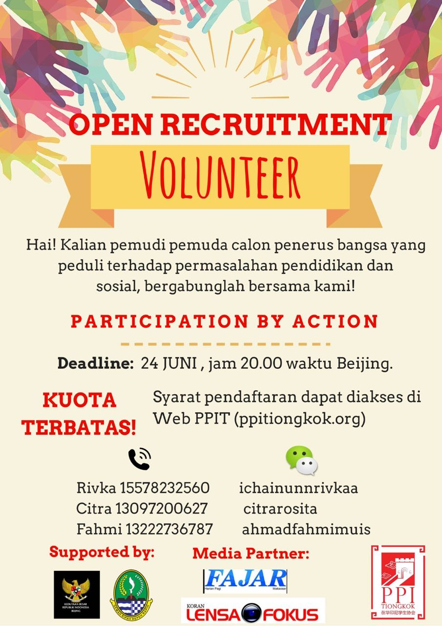 Volunteer Bakti sosial PPI tiongkok SDN cireundeu