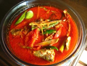 Traditional Food ikan asam pedas tanjung pinang