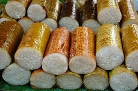 kolo nasi bakar burn rice indonesian food