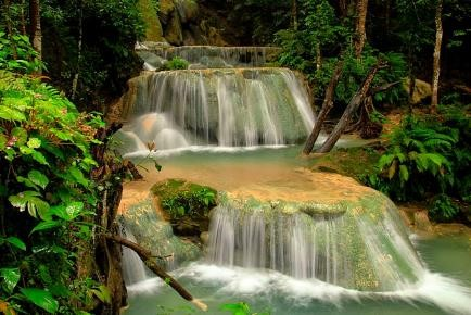 waterfall oehala indonesia