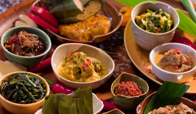 Balinese food indonesia