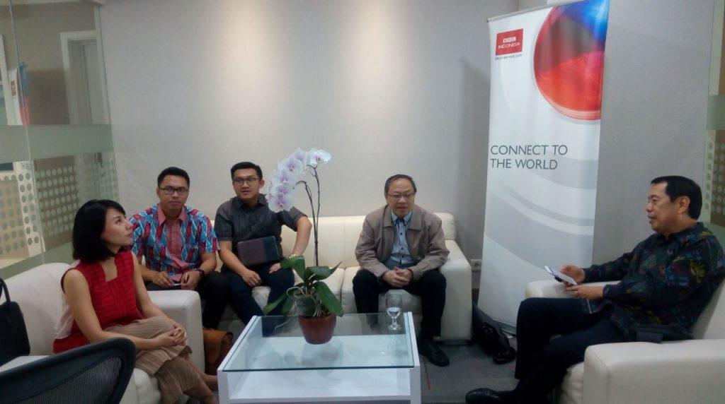 Diskusi mengenai keadaan pelajar Indonesia di Tiongkok